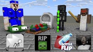 Monster School : SEASON 5 ALL EPISODE - Minecraft Animation