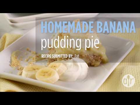 How to Make Homemade Banana Pudding Pie | Dessert Recipes | Allrecipes.com