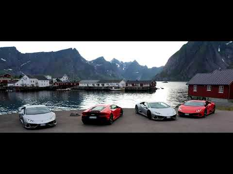 Lamborghini Avventura 2019: A Huracán EVO expedition to explore Norway's Lofoten Islands