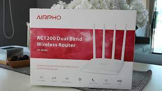 AR-W400: AC1200 Dual Band Wireless Router