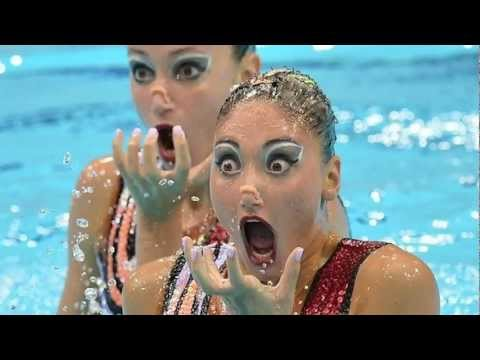 Synchronized Swimming Is Terrifying