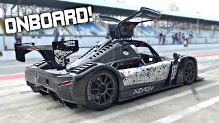 Radical RXC Turbo 500 Street-Legal Chasing Audi R8 GT3 at Monza! – OnBoard Best Lap 1.52.17