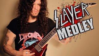 Slayer MEDLEY !!! A tribute to Jeff Hanneman