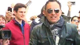 La llegada de Bruce Springsteen a Donostia