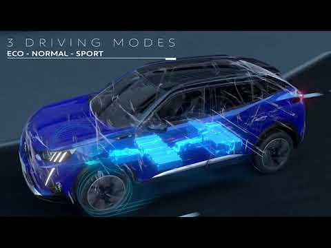 Peugeot e-2008 SUV teknologi