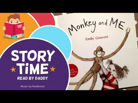 Monkey And Me - Storytime Book Reading - YouTube