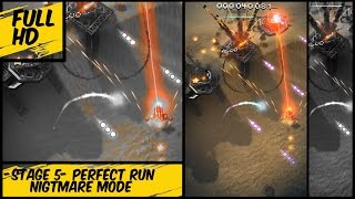 Sky force reloaded- stage 5- nightmare perfect, tips and tricks.