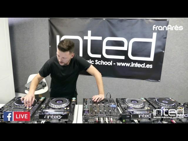 Video en directo de Fran Ares para INTED Electronic Music School