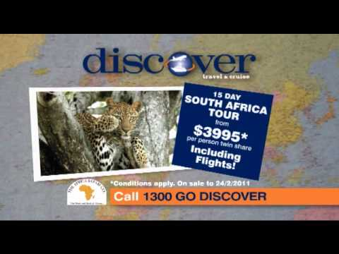15 day South Africa Tour from $3995*