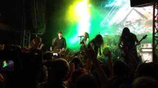 Amaranthe - Hunger - live at KKZ Moskva, Moscow - 24.04.2013 (cut)