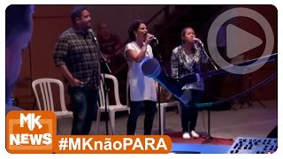Aline Barros, Bruna Karla e Fernandinho - Ensaio DVD Extraordinária Graça (#MKnãoPARA)