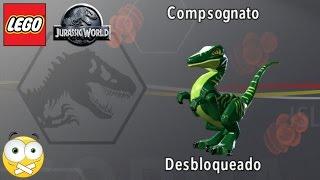 LEGO Jurassic World  Como Liberar Dinossauros (Compsognato) Dublado PT-BR