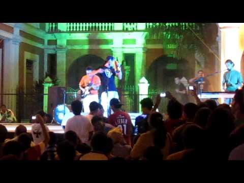 La Cuneta Son Machín en Festival de la Poesía 2011,Granada