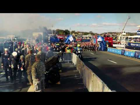 2016 TCS NYC Marathon Race Start Line
