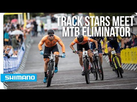 Track stars meet MTB Eliminator | SHIMANO