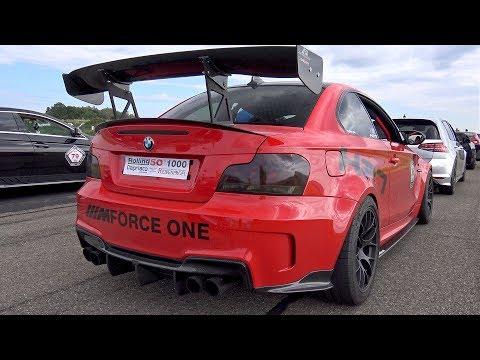 550HP BMW 1M HPT STAGE 3 vs AMG GT S vs GOLF 7 R vs BMW M4