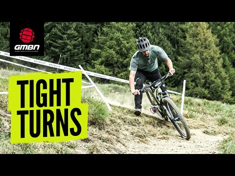 How To Ride Tight Turns On Your MTB | Mountain Bike Skills