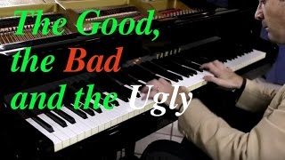 The Good, the Bad and the Ugly - Ennio Morricone HD Piano Cover play by ear by Fabrizio Spaggiari