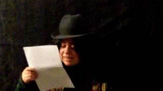 ¨Telúrica y magnética¨ poema de César vallejo.mov