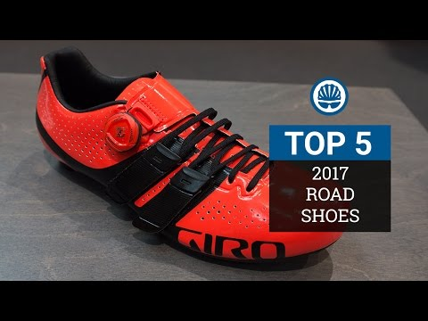 Top 5 - Hottest Road Cycling Shoes 2017