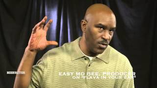 """Easy Mo Bee On Making """"Flava In Your Ear"""" [NODFACTOR.COM]"""