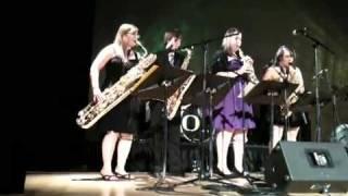 Star Wars Cantina Band Sax Quartet