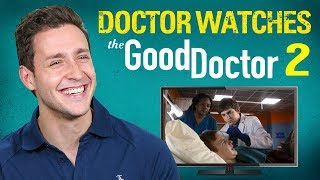 Real Doctor Reacts to THE GOOD DOCTOR #2 | Medical Drama Review | Doctor Mike width=