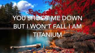 Titanium by Madilyn Bailey {Lyrics}