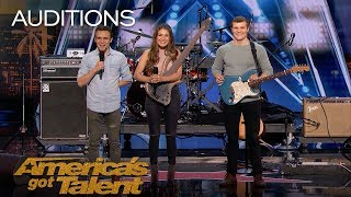 We Three: Family Band Performs Song Tribute For Mother With Cancer - America's Got Talent 2018 width=