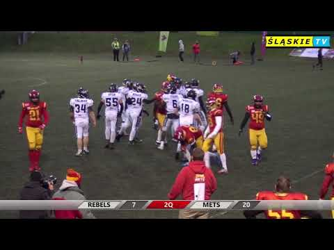 Silesia Rebels vs Warsaw Mets 20:35