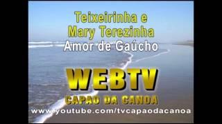 Amor de Gaúcho - Teixeirinha e Mary Terezinha - Tv Capão da Canoa