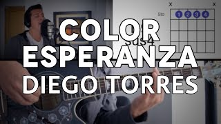 Color Esperanza Diego Torres Tutorial Cover - Guitarra [Mauro Martinez]