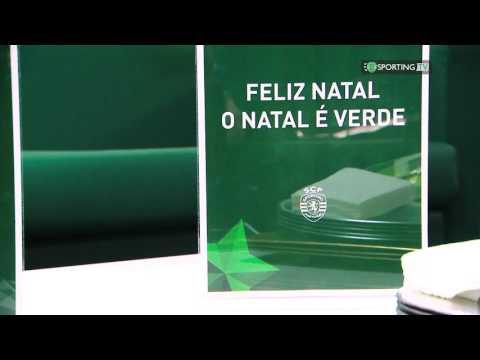 Calendário do Advento do Sporting CP, todo dia um vídeo novo! #ONataléVerde - 3 de dezembro