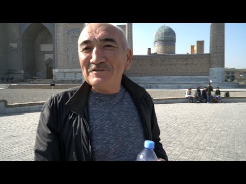 Узбекистан # 4. Самарканд. Сиабский базар. Иранский плов. Регистан photo