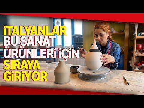 Türkiye'de Sayılı Ustanın Yaptığı 'Raku' Sanatına İtalyan İlgisi