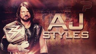AJ Styles 4th Custom  Titantron ᴴᴰ