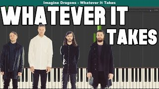 Whatever It Takes Piano Tutorial - Free Sheet Music (Imagine Dragons)
