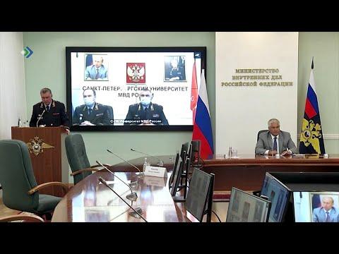 Министр внутренних дел России поздравил коллег с присвоением званий высшего начальствующего состава
