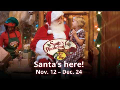 All Kids Love Santa | Santa's Wonderland | Bass Pro Shops