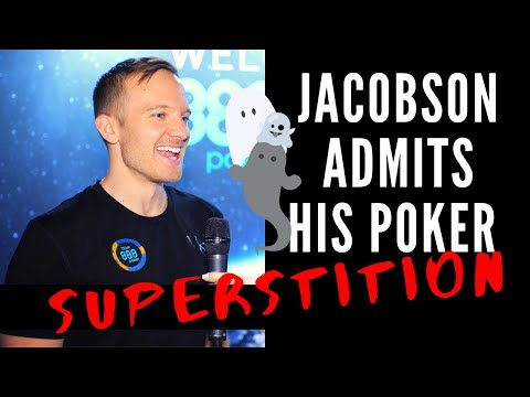 """Does Poker Pro Martin Jacobson Have Poker Superstitions"""""""""""""""