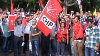 KAYSERİ 1 MAYIS 2013- Enternasyonal Marşı