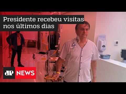 Bolsonaro poderá receber alta do hospital neste domingo