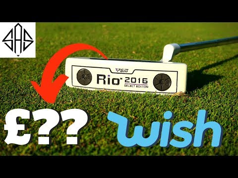 I BOUGHT THE CHEAPEST PUTTER IN THE WORLD - RESULTS