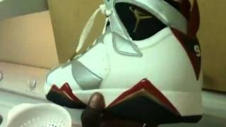 9d2728d2fdcd91 Air Jordan VII Retro Olympic 7 2012 Early Release Review From Sole-up -  YouTube