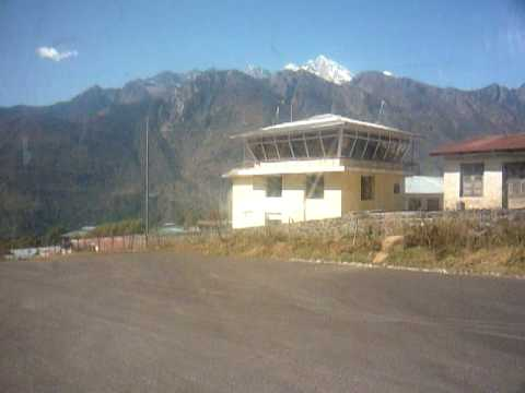 Takeoff from Lukla (from inside)