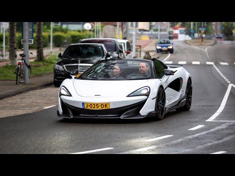 McLaren 600LT Spider - Lovely Accelerations & Downshift Sounds !