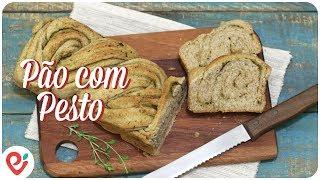 Pão Recheado com Pesto