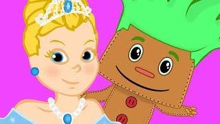 PimPom com Cinderela  - Desenho infantil com Os Amiguinhos