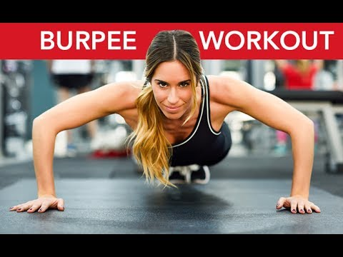 Burpee Workout for Fat Loss (3 TOUGH VARIATIONS!!)
