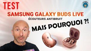 vidéo test Samsung Galaxy Buds Live par PP World